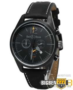Часы Bell & Ross Vintage BR Blackbird Flyback All Black E-2203