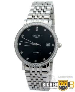 Часы Longines Elegant Collection Diamonds Black