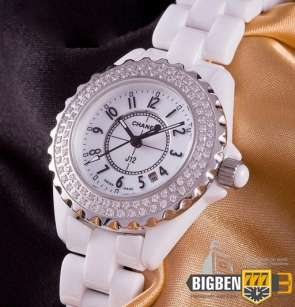 Часы Chanel J12 White Ceramic