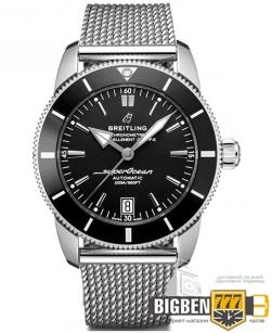 Часы Breitling B20 Silver-Black