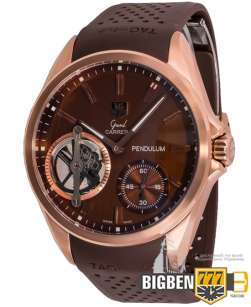 Часы Tag Heuer Grand Carrera Pendulum Brown E-750