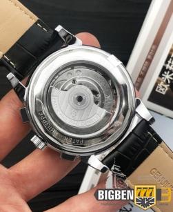 Часы Patek Philippe Geneve Tourbillon Silver-Black