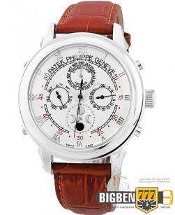 Часы Patek Philippe Grand Complications 5002 Sky Moon Brown-Silver-White New
