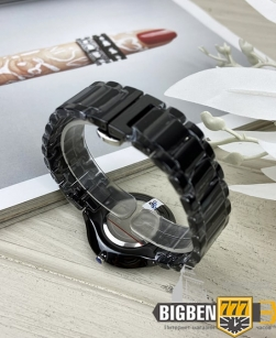 Часы Rado True Thinline Ceramic Black-Silver