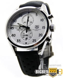 Часы Tag Heuer Carrera SpaceX 1887 Silver