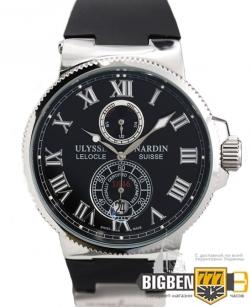Часы Ulysse Nardin Le Locle Suisse Silver-Black