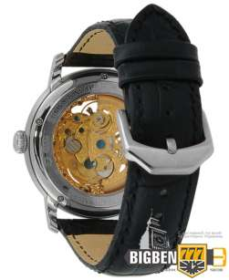 Часы Audemars Piguet Skeleton Black Silver E-2108