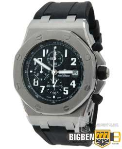 Часы Audemars Piguet Royal Oak Offshore Chronograph Black E-2113