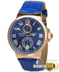Часы Ulysse Nardin Marine Mens Watch Gold E-844