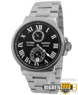 Часы Ulysse Nardin Chronometer 45mm Silver E-835
