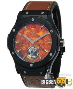 Часы Hublot Classic Fusion Volcano Tourbillon Brown E-947