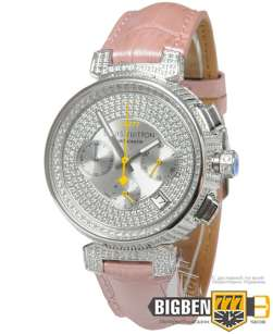 Часы Louis Vuitton Tambour Chronometre Lady Pink Е-2704