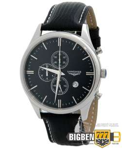 Часы Longines Conquest Classic Chronograph Black