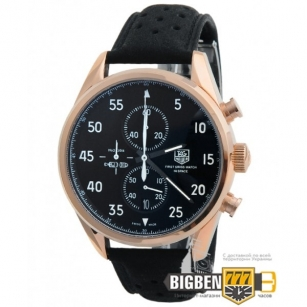 Часы Tag Heuer Carrera SpaceX 1887 Gold - Black